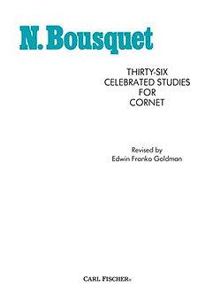 36 Celebrated Studies - Narcisse Bousquet