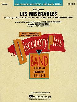 Music from Les Misérables
