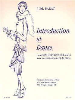 Introduction And Danse - Jaques Ed. Barat
