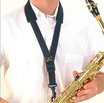 BG France Draagriem Saxofoon Alto/Tenor Comfort S10-SH Kunststof Snaphook