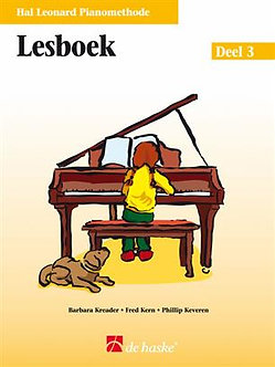 Hal Leonard Pianomethode Lesboek 3 - Phillip Keveren