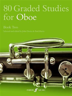 80 Graded Studies For Oboe Book 2 - J. Davies