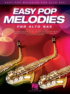 Easy Pop Melodies - for Alto Sax