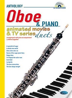 Animated Movies and TV Duets for Oboe And Piano - Andrea Cappellari