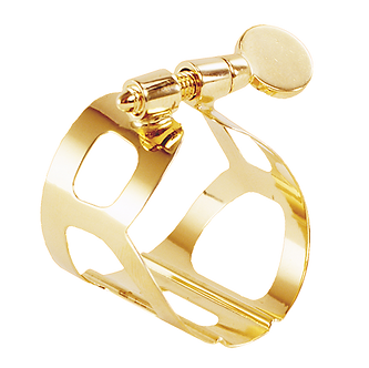 BG France Ligatuur Saxofoon Soprano Tradition Goudlak L50