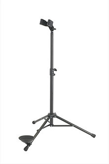 K&M 15010-011-55 Fagot Stand voor Fagot-Basklarinet Zwart