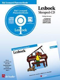 Hal Leonard Pianomethode Lesboek 1 (CD) - Phillip Keveren