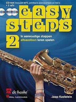Easy Steps 2 altsaxofoon - Jaap Kastelein & Klaas de Jong