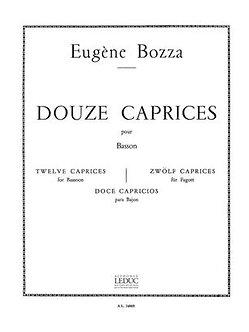 12 Caprices - Eugène Bozza