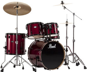 Pearl Drumset Vision Birch - Red Wine (Hardware Included)