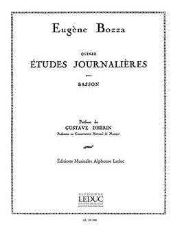15 Etudes Journalières - Eugène Bozza
