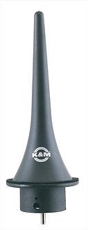 K&M 15224-000-55 Kegel voor Klarinetstand 15281 Zwart