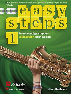 Easy Steps 1 altsaxofoon - Jaap Kastelein & Klaas de Jong