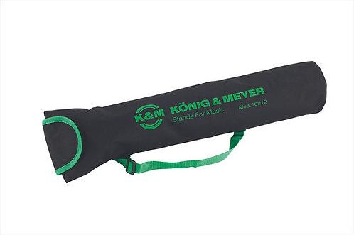 K&M 10012-000-00 Hoezen Nylon voor 100/1+100/5+10065 Zwart