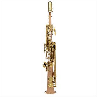 John Packer Sopranino Saxofoon JP146 tot lage C - Uitvoering: Rose Brass