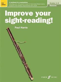 Improve your sight-reading! Bassoon Gr. 1-5 - Paul Harris