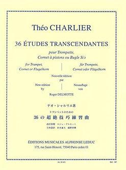36 Etudes Transcendantes - Théo Charlier