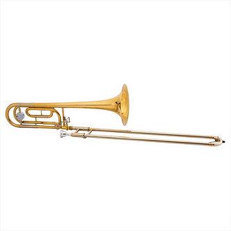 John Packer Tenor Trombone JP331RATH met F-attachment - Uitvoering: Goudlak