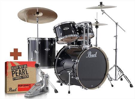 EXX725F Pearl Export Studio 5-delig Incl. Hardware, Cymbalen