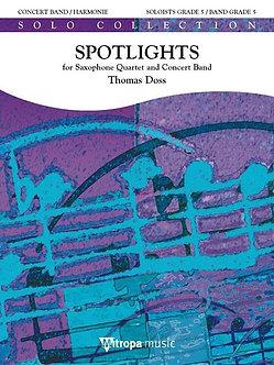 Spotlights - Solo for Saxophone Quartet