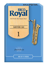 D'Addario Woodwinds Rieten Saxofoon Bariton ROYAL