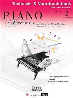 Piano Adventures Techniek- & Voordrachtboek Deel 2