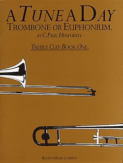 A Tune A Day For Trombone Or Euphonium (TC) 1 - Paul Herfurth