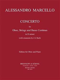 Concerto in D minor - Alessandro Marcello