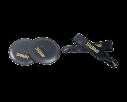 Sabian Leder Strap (2) + Leder Pad (2) Concert Cymbaal