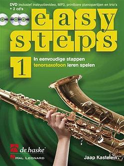 Easy Steps 1 tenorsaxofoon - Jaap Kastelein & Klaas de Jong