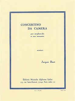 Concertino Da Camera - Jacques Ibert