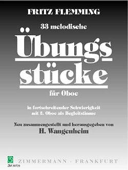 Melodische übungsstücke(33) - Fritz Flemming