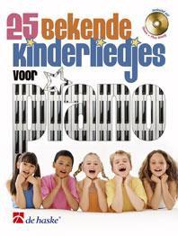 25 bekende kinderliedjes voor piano