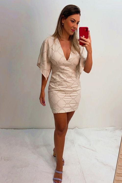 Vestido Lese Liso