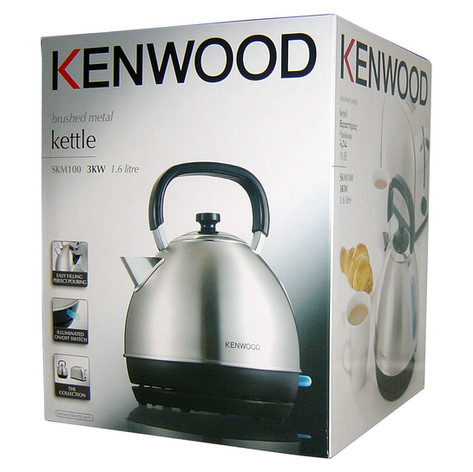 Kenwood packaging including product and food photography