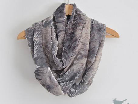Silk Devore Scarves