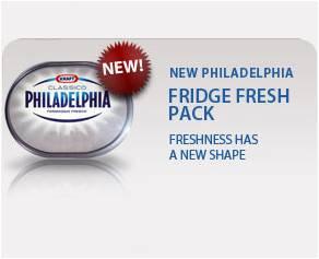 Kraft- Philadelphia branding POS across Europe and into every major supermarket
