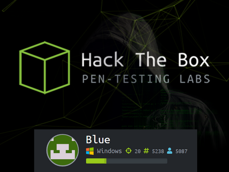 Hack The Box: Blue