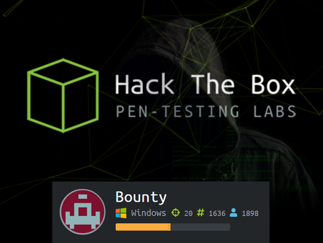 Hack The Box: Bounty