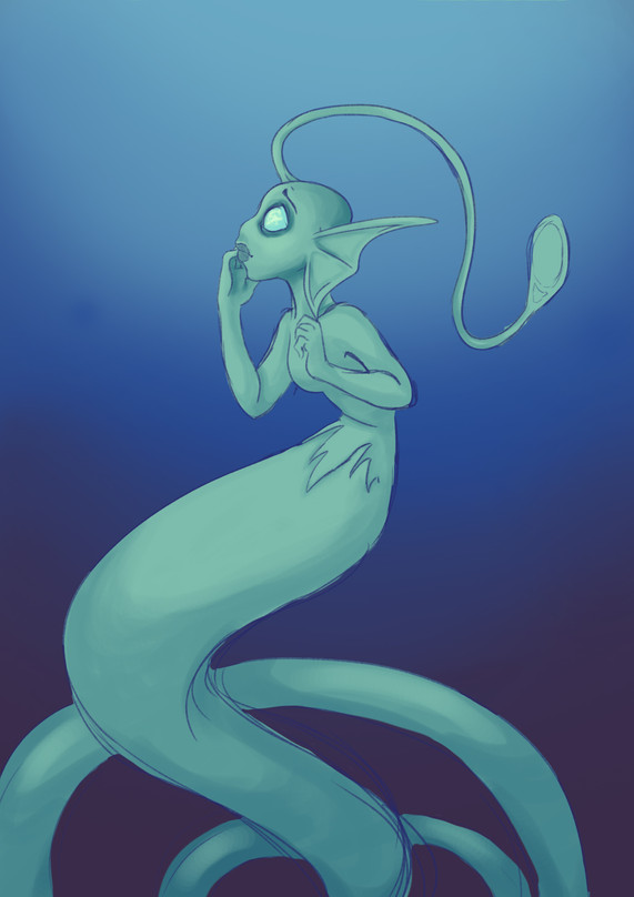 WIP Mermaid