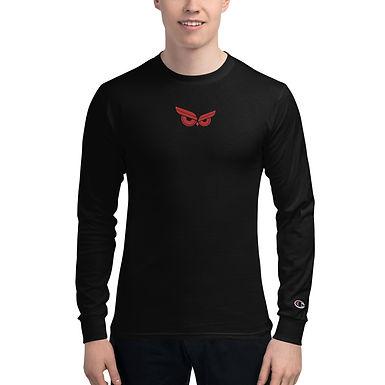 Moziah Red Cntr Men's Champion Long Sleeve Shirt