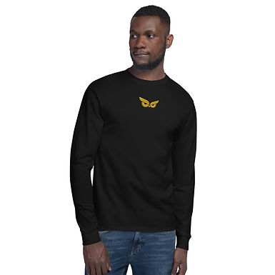 Moziah Gold Owl Cntr Men's Champion Long Sleeve Shirt
