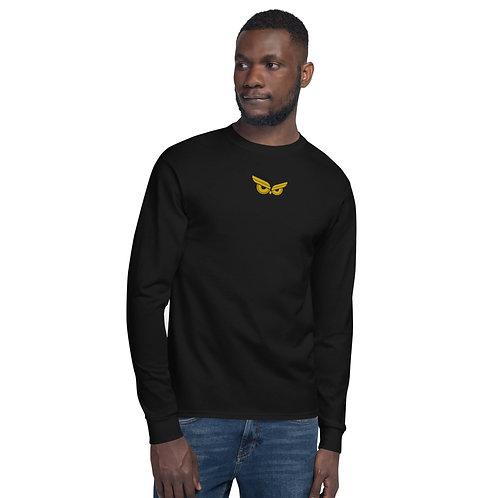 Moziah Gold Owl Cntr Men's Champion Long Sleeve Shirt