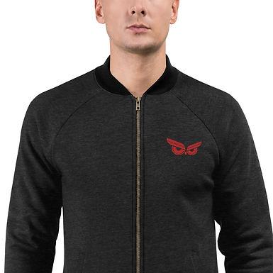 Moziah Signature Red Owl Unisex Bomber Jacket