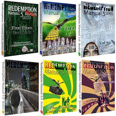 Redemption Manual Books BUNDLE – The Whole Set!