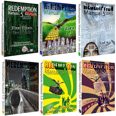 Redemption Manual Books BUNDLE – The Whole Set!