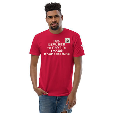 Mind Your Mind IRS TAX REFUSAL TO PAY TAXES T-SHIRT