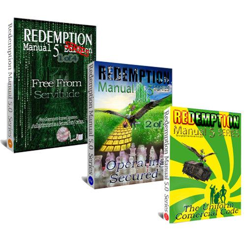 Redemption Manual Book 1 & 2 & UCC Supplemental BUNDLE