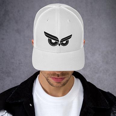 Moziah Black Owl Trucker Cap