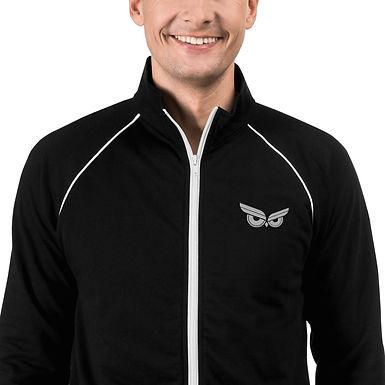 Moziah Executive White Owl Piped Fleece Jacket